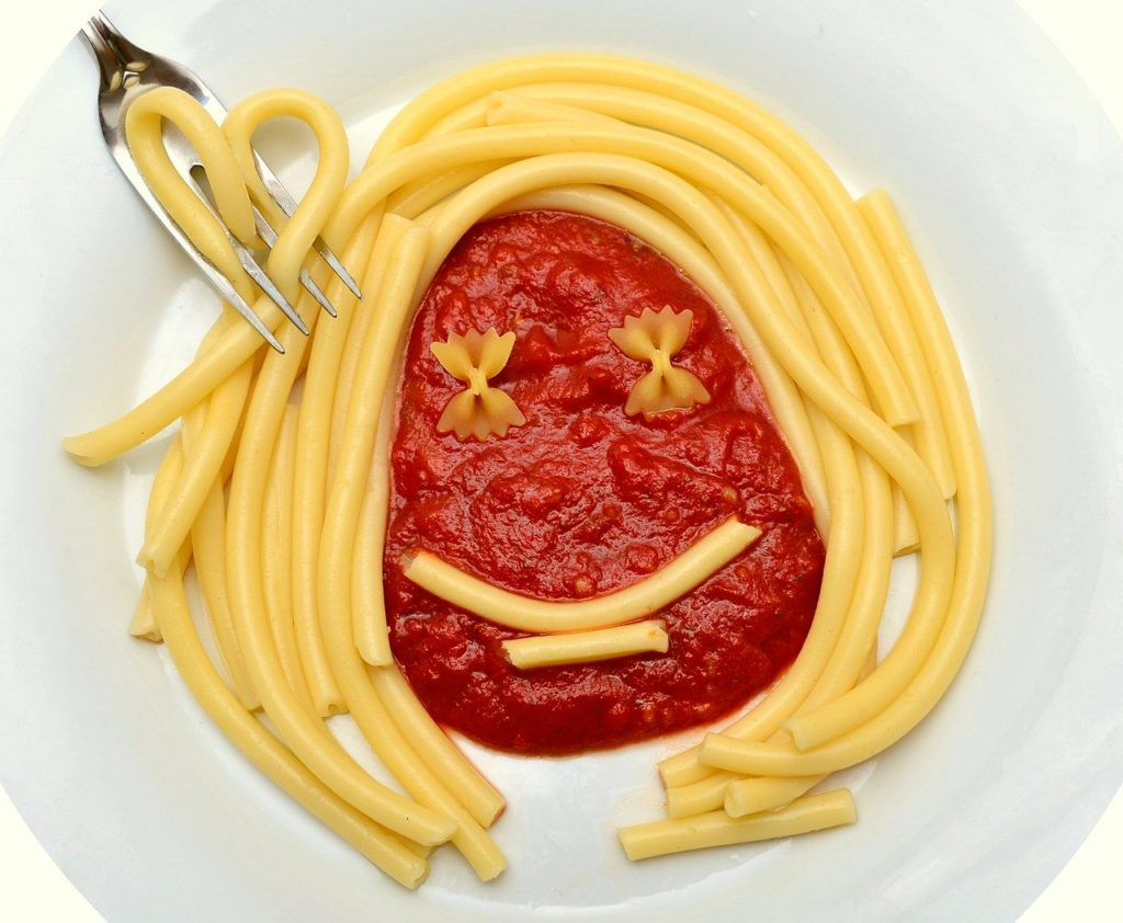 macaroni, bolognese, pasta