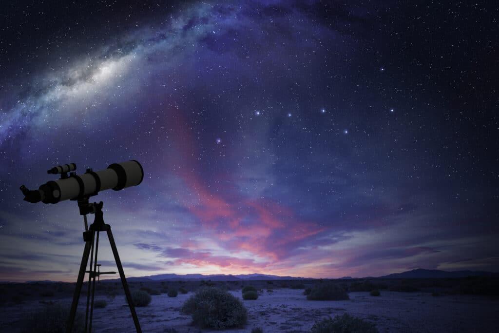 Ein Blick in die Sterne ist die beste Voraussetzung für eine schöne und entspannende Gute-Nacht-Geschichte.